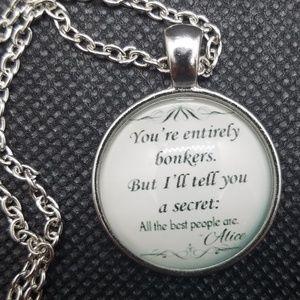 Alice In Wonderland Inspired Necklace